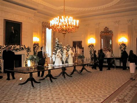 White House State Dining Room White House State Dining Room Gw Admissions Student The Much Anticipated White House Tour