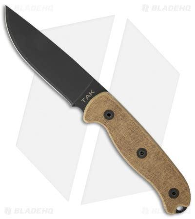 ontario tak 1 ontario tak 1 fixed blade knife 4 5 quot black okc 8602