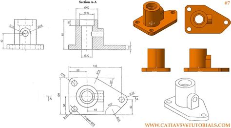 pattern a sketch catia catia v5 video tutorial 5 sketch in to a plane hole
