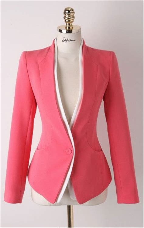 Blazer Fashion Wanita model jaket terbaru 2015 korea style holidays oo
