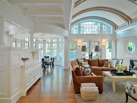 Windows Family Room by Impressive Microfiber Sectional In Family Room Traditional