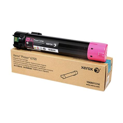 Fuji Xerox Phaser 6700 Cyan Original 106r01515 xerox phaser 6700dn magenta toner cartridge 12 000 pages