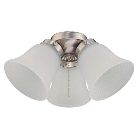 Home Depot Ceiling Fan Light Kits Westinghouse 3 Light Led Cluster Ceiling Fan Light Kit 7784900 The Home Depot