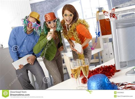new year office new year in office stock photo image