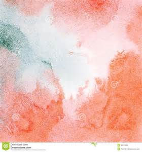 Painted Textured Wallpaper - abstract red watercolor background stock photography image 34616292