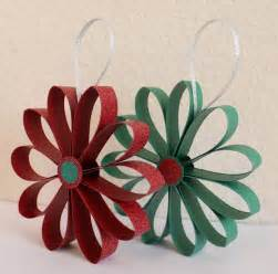 diy paper ornaments 10 christmas ornaments made from