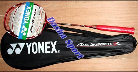 Raket Ebox Saber 2 raket badminton yonex arc saber murah dasha sport jeruklegi cilacap