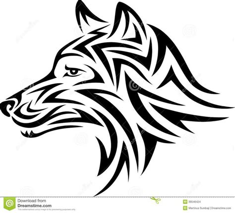 body tattoo vector dog tribal stock vector rez dawg rescue mood board