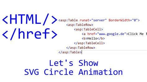 javascript animation tutorial web design let s show 109 html tutorial svg circle animation