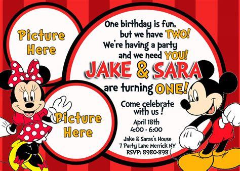 Sending Mickey And Minnie A Wedding Invitation