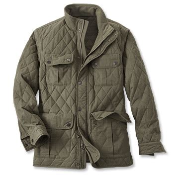 Wax Cotton Quilted Jacket / Bolton Wax Cloth Jacket    Orvis