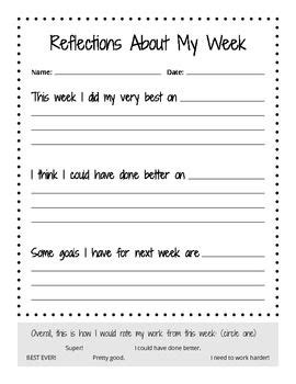 Reflections About My Week | Teaching: 2nd Grade PYP