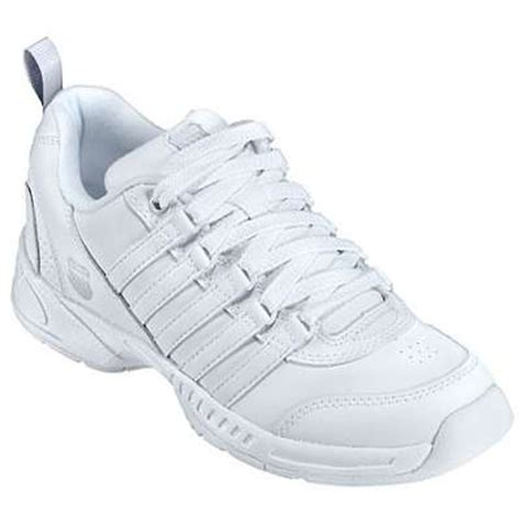 k swiss shoes womens grancourt white tennis shoe 91733 155