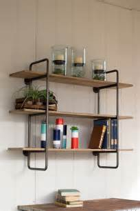 industrial wall shelving best 25 industrial wall shelves ideas that you will like