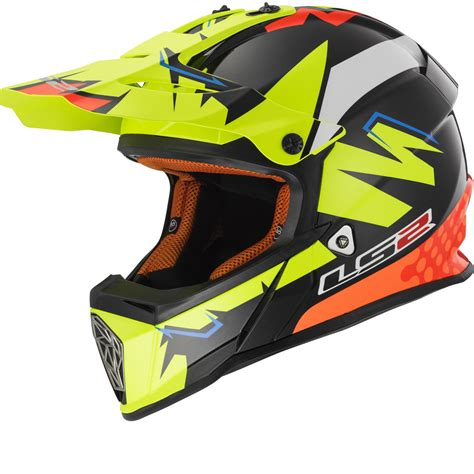 ls2 motocross helmets india ls2 mx437 fast volt motocross helmet new arrivals