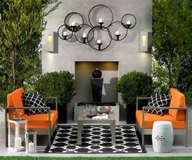 Backyard Wall Decorating Ideas 15 Fabulous Small Patio Ideas To Make Most Of Small Space