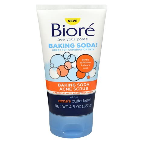 S Biore Scrub biore baking soda acne scrub walgreens