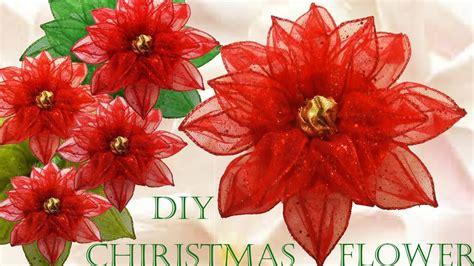 haz f 225 cil lindas flores y decoraciones para navidad youtube