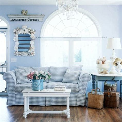 sofa gestreift rustic house sofas help the living room of cozy for