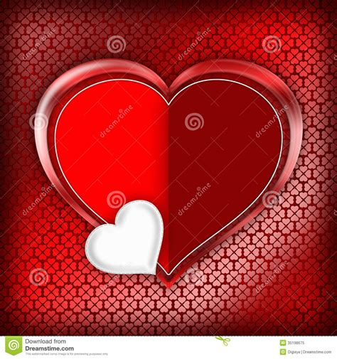 Free Valentines Day Card Templates For Photographers by Valentines Day Card Template Royalty Free Stock Photo