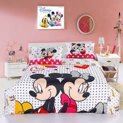 Disney Comforter Sets Queen Size Cutest Mickey Mouse Bedding For Kids And Adults Too