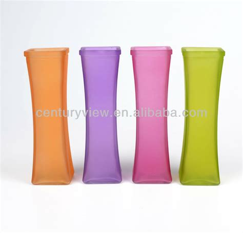 Colored Vases Wholesale by Colored Cheap Glass Flower Vase Wholesale Buy Cheap