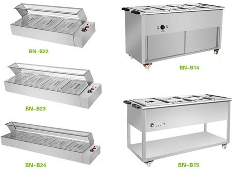 counter top catering equipment commercial buffet food