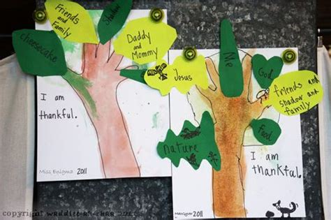the giving thanks tree fun holiday activities for kids 17 best images about preschool theme young readers week