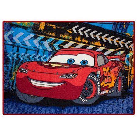Disney Cars Rug - disney cars room rug 4 6 quot x 3 9 quot walmart
