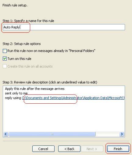 Contoh Rapay by Cara Buat Auto Replay Email Balasan Otomatis Di Outlook