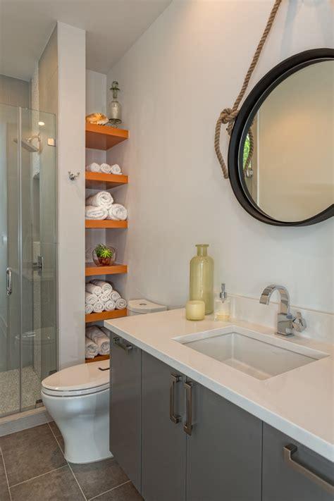 Contemporary Bathroom Shelves Bathroom Shelf Ideas Bathroom Contemporary With Glass Shower Door Guest Beeyoutifullife