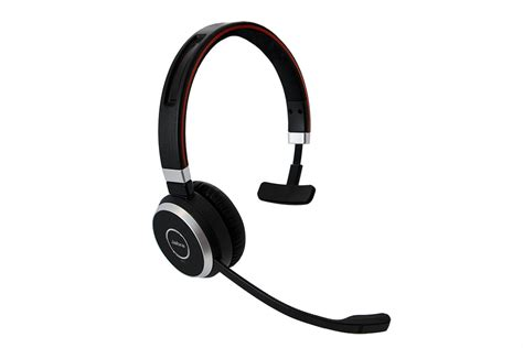 Headset Bluetooth Mono jabra evolve 65 wireless bluetooth mono headset yay