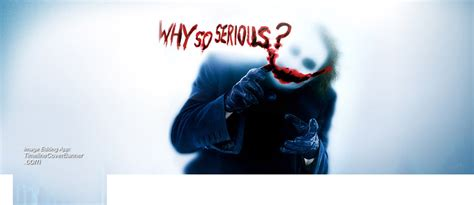 Joker Why so serious Facebook Cover   timelinecoverbanner.com