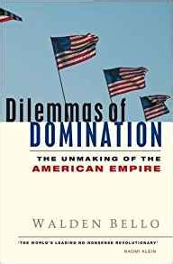 Dilemmas Of The Unmaking Of The American