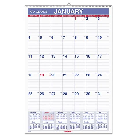 printable daily wall calendar monthly wall calendar with ruled daily blocks by at a