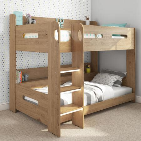 Sky Bunk Bed In Oak Ladder Can Be Fitted Either Side Bunk Beds That Can Be Single Beds