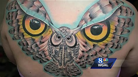 pennsylvania tattoo local artist inspires pennsylvania community aol news