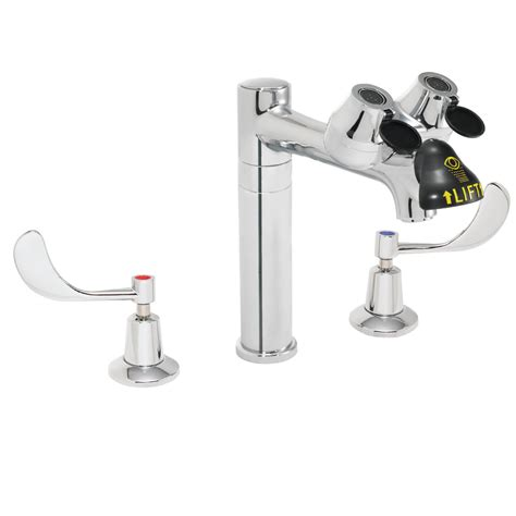 Lab Faucets by Lab Faucet With Independent Eyewash System