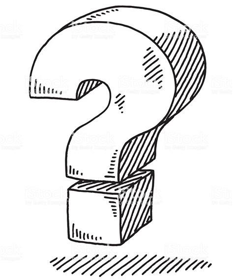 Drawing Questions by Placa De Ponto De Interroga 231 227 O Desenho Ousado Arte
