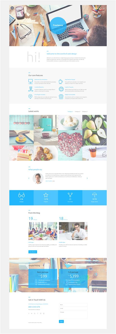 joomla template layout view web design portfolio joomla template