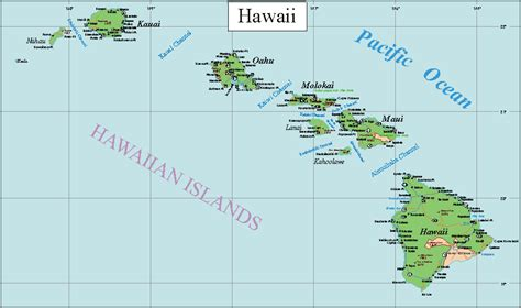 map of hawaii islands hawaiian islands maps pictures map of hawaii cities and islands