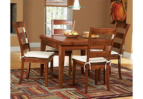 melbourne tobacco 5 pc square dining set dining room
