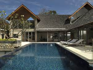 villa in thailand combining asian furnishings with a high