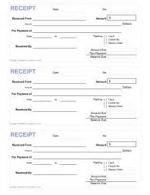 Printable Cash Receipt Template Free 10 Best Images Of Printable Cash Receipt Template Free