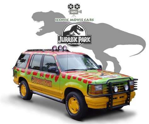 jurassic park car movie iconic movie cars jurassic park vehicles ibav