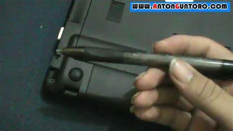 cara reset baterai laptop acer cara membuka baterai acer aspire one youtube