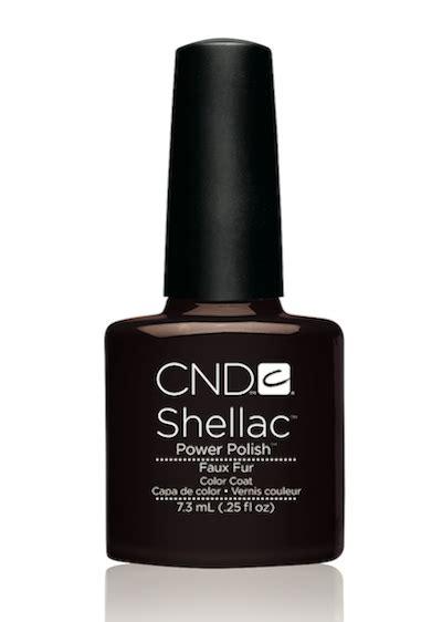cnd l bulbs cnd shellac faux fur l gel nails