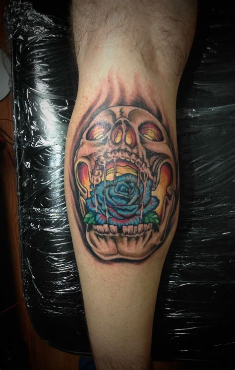 rose tattoo on butt 29 best tribal skull sleeve for images on