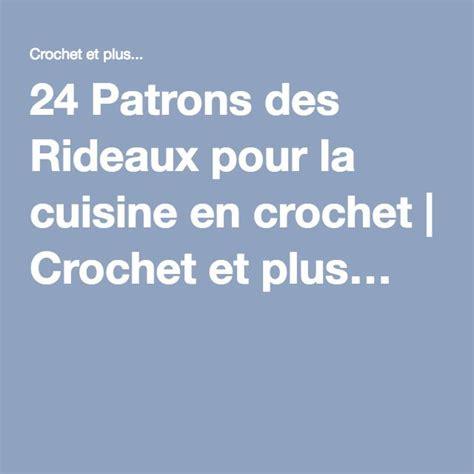 Rideau Crochet Patron by 24 Patrons Des Rideaux Pour La Cuisine En Crochet