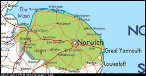 Norfolk England Map by Map Of Norfolk England Uk Map Uk Atlas